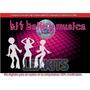 Kit Imprimible Musica Y Baile Tarjetas Cumple Y Mas (2x1)