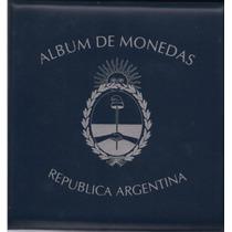 Album Para Guardar Monedas Argentinas En 5 Tomos Ilustrados