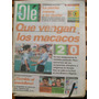 Diario Ole 31/7/1996 Crespo - Argentina 2 Portugal 0 / Lewis