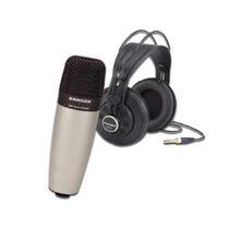 Microfono + Auriculares Samson Co1850 Co1 Studio Mic Sr850