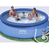 Pileta Inflable Intex 366 X 91 Con Bomba Filtro Easy Set