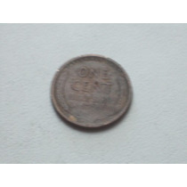 One Cent 1919 Antigua Moneda De Ee.uu..