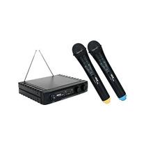 Microfono Doble Inalámbrico Skp Vhf-2671