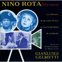 Nino Rota La Strada Waterloo War And Peace Cd Audio