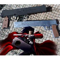 Hellsing Pistolas Alucard Casull And Jackal Replica Cosplay
