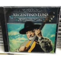 Cd Argentino Luna 20 Grandes Éxitos Nuevo Cerrado