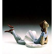 Figura Ballet Ensayo Azul Tier.4 - Lladro - Pieza N 01011359