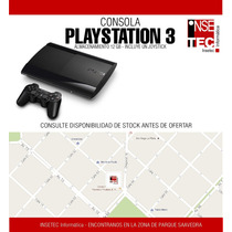 La Plata - Consola Play Station 3 12gb