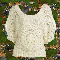 New Out Chaleco Crochet Tejido Primavera Otoño Invierno