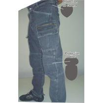 Pantalon Para Moto Con Proteccion
