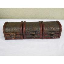Cofres De Madera Tipo Alhajeros Medianos Ideal Souvenirs