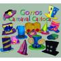 Gorros Carnaval Carioca- Galera Baja Cuadrada