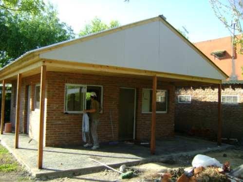 Viviendas premoldeadas caba as y casas prefabricadas a - Casas de madera por dentro ...