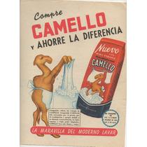 Antigua Propaganda- Jabòn En Polvo Camello