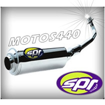 Escape Spr Turbo Sprint Zanella Zb 110 Motos440!!!!!
