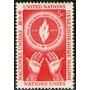 Naciones Unidas 1 Sello Nuevo Día Derechos Humanos Año 1953