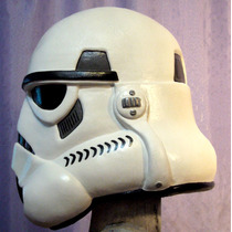 Mascara De Trooper Clon, En Latex Stormtrooper, Star Wars !