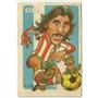 Figurita Super Futbol 1979 - Ayala - Caricatura -