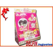 Juliana Centro De Belleza Tocador Con Luz Y Accesorios
