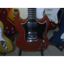 Gibson Sg Moon Inlays Usa !! Unica Con Cuerdas Fender Prs