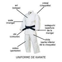 Karategui Standar Karate T8 - T9 - T10