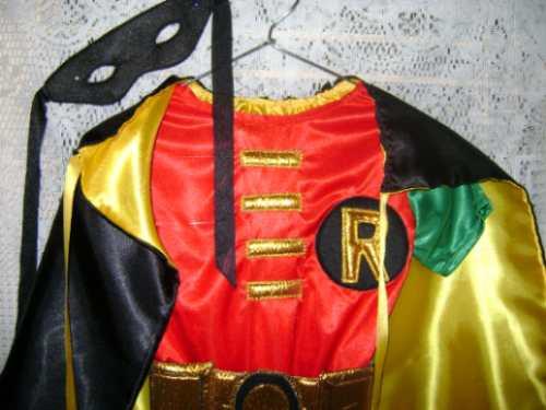 Robin traje adolescente titanes