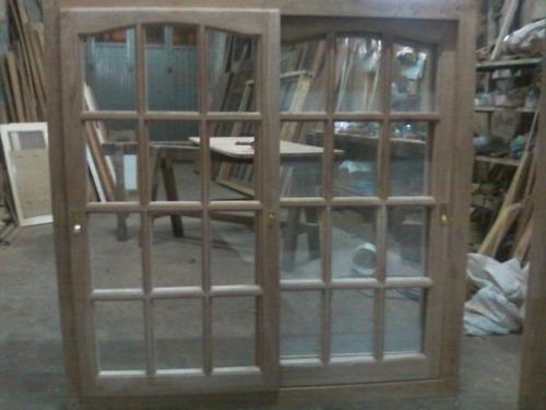 Ventanas de madera puertas y portones aberturas zona sur for Ventanales de aluminio zona sur