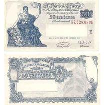 Billete 50 Centavos Progreso Bottero 1811 Sin Circular