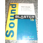 Sound Blaster 16 - Manual Del Usuario - Reliquia - 1994