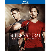 Blu-ray Supernatural Season 6 / Temporada 6