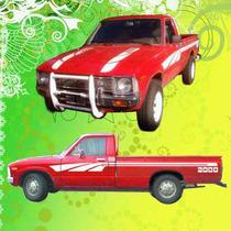Calcomania Decoracion Toyota Hilux 1980