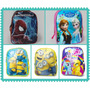 Mochila Frozen,minions,my Littel Pony,spiderman. Para Jardin