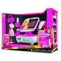 Educando Caja Registradora Barbie Calculadora Visor Digital