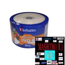 Dvd Verbatim Printable 0 Aro X 100 (se Acepta Mercadopago )
