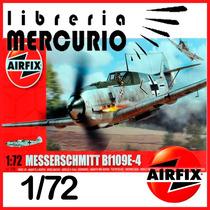Airfix 1/72 Meeserschmitt Bf 109 E-4 Maqueta Para Armar