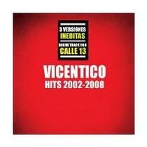 Vicentico - Hits 2002-2008 - Disco Compacto - Red&blue