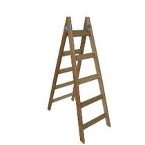 Escalera Madera T/pintor 6 Escalones