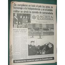 Diario Gaceta Marinera Guerra Malvinas Falklands 488 Actos