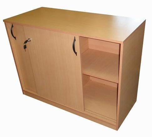 biblioteca baja escritorio muebles de oficina