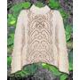 Sweater Crochet Tejido Otoño Invierno Varios Talles