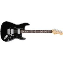 Guitarra Fender Black Top Stratocaster Mic Dobles Humbuckers