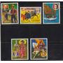 Paraguay, Libros Y Trajes Tipicos, Serie Completa 1977
