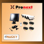 Kit De 4 Camaras Color Sin Audio + Monitor Pronext Prok10c