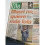 Diario Ole 10/8/1996 Caniggia - Navarro Montoya- Boca/ Macri