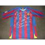 Camiseta Del Fc Barcelona Totalmente Autografiada