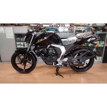 Yamaha Fz Fi Negra 2016 Promo Junio!! Palermo Bikes