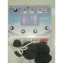 Electro Estimulador 4 Canales 8 Electrodos Profesional