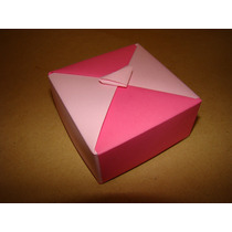 Cajitas Origami, Ideal Para Guarduar Tu Regalo Especial!