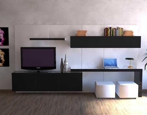 Mobili Tv Lcd : Modular lcd rack panel tv moderno living progetto ...