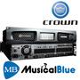 Potencia Multicanal Crown Para Sonido Insta 8 X 300w Dci8300